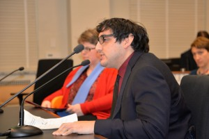 Noah Seidel testifying at House Hearing on the ABLE Act