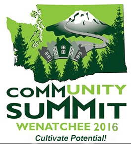 Community Summit Wenatchee 2016 image of Washington State