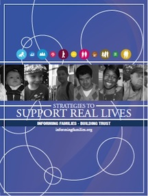Resource Folder Cover: Strategies to Support Real Lives