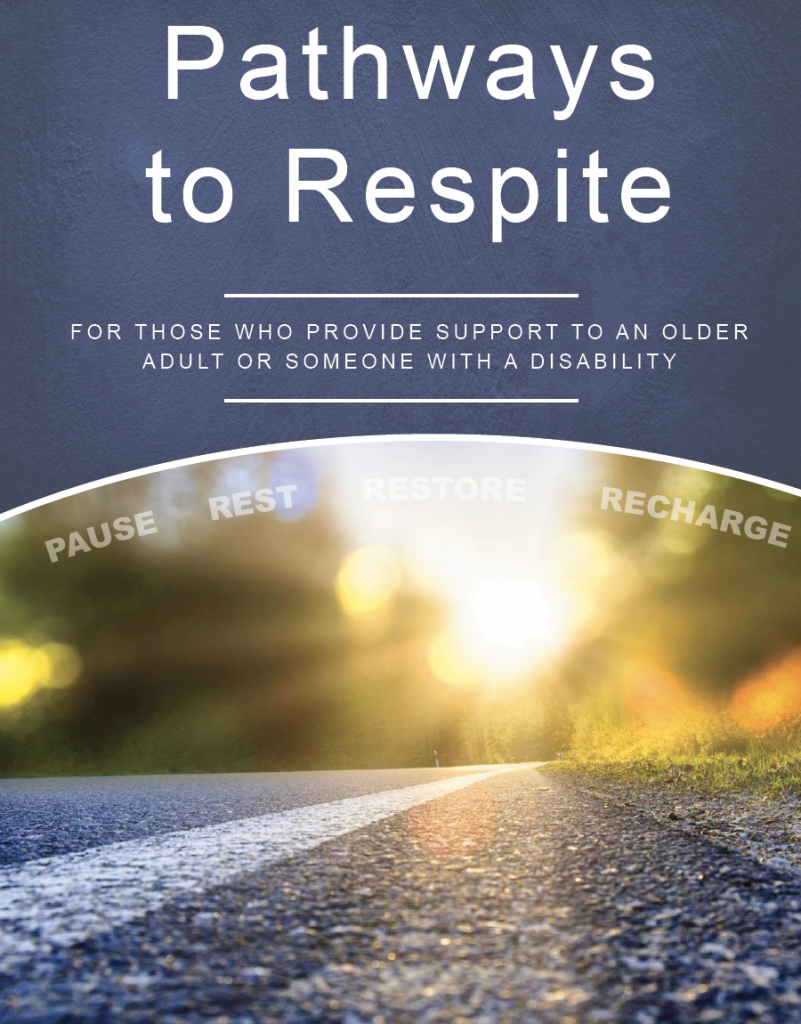 Thumbnail image of Pathways to Respite cover, which depicts a road washed in sunlight.