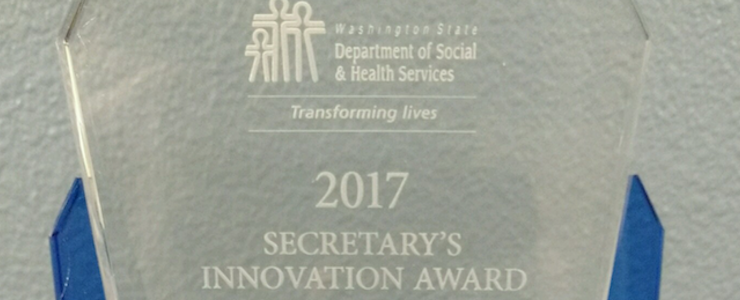2017 DSHS Secretary's Innovation Award