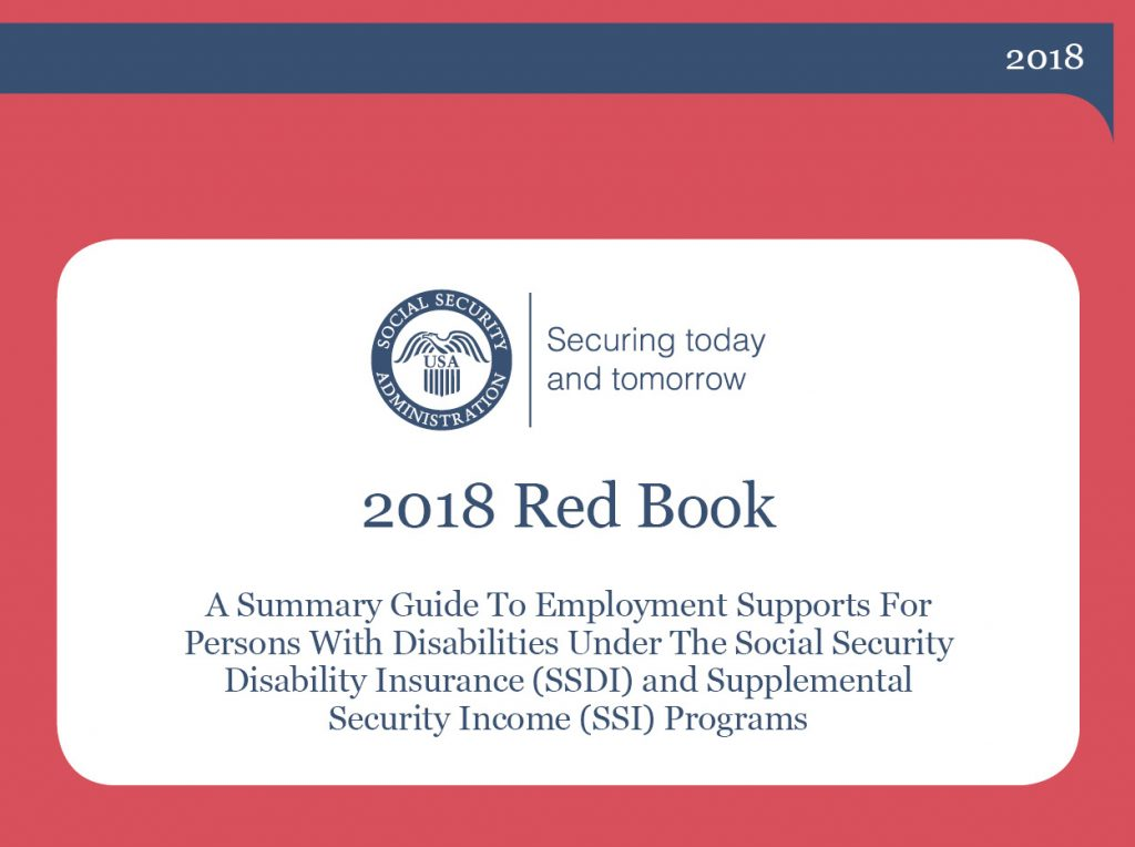 Cover image of the 2018 Social Security Administration Red Book.