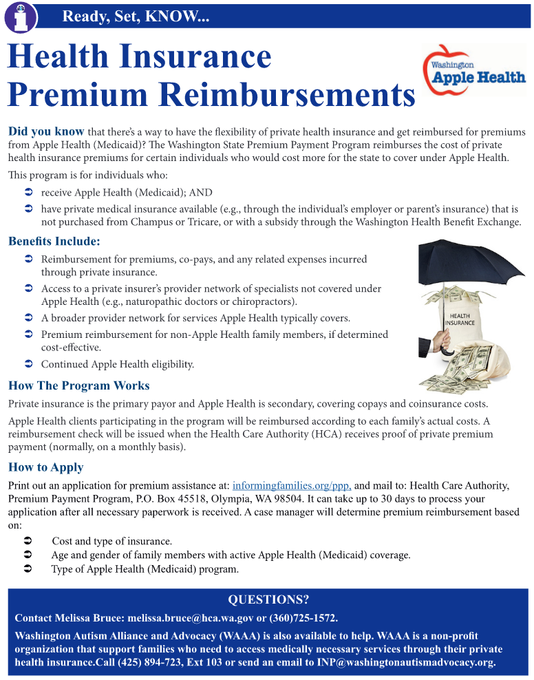 tThumbnail image of a one page fact sheet version of this article on the Health Insurance Premium Payment Program.