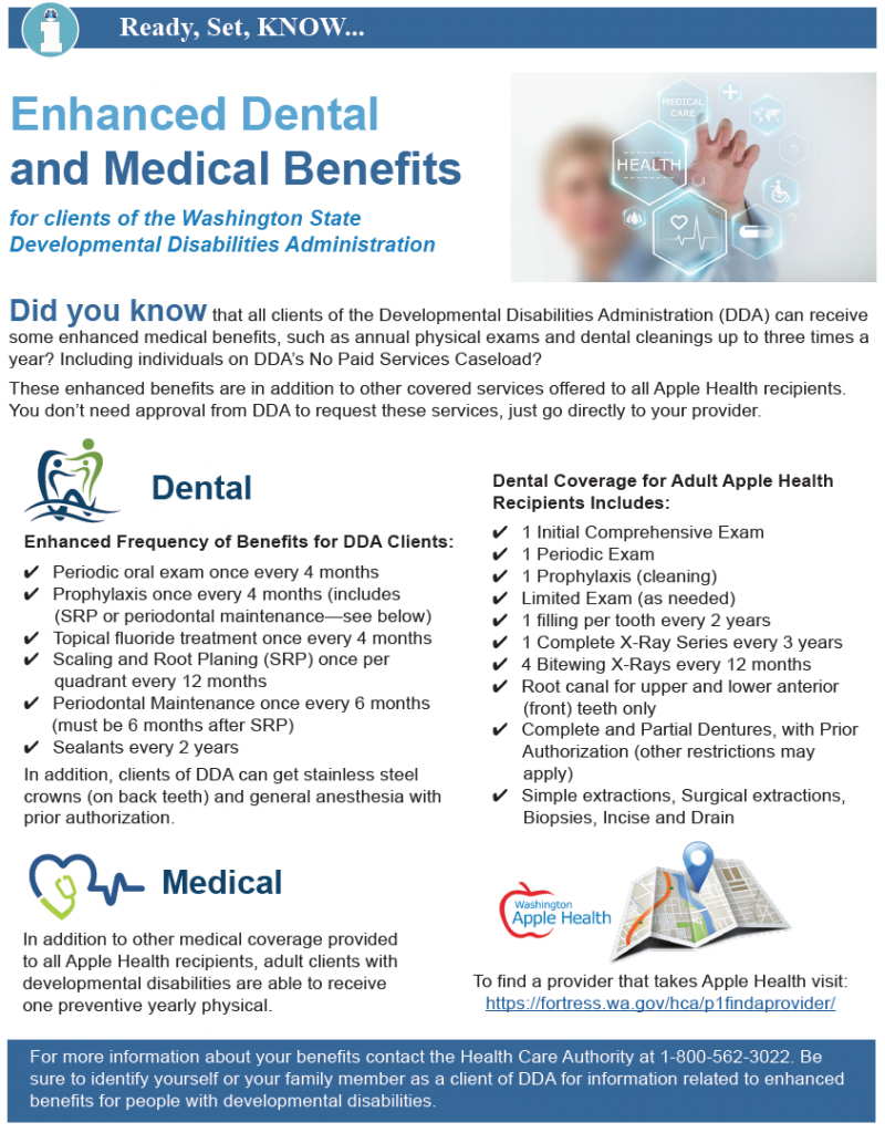 Thumbnail image of the one page bulletin on enhanced dental and medical benefits.