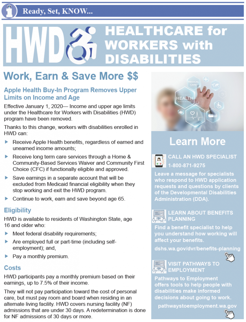 Thumbnail image of one page HWD bulletin.